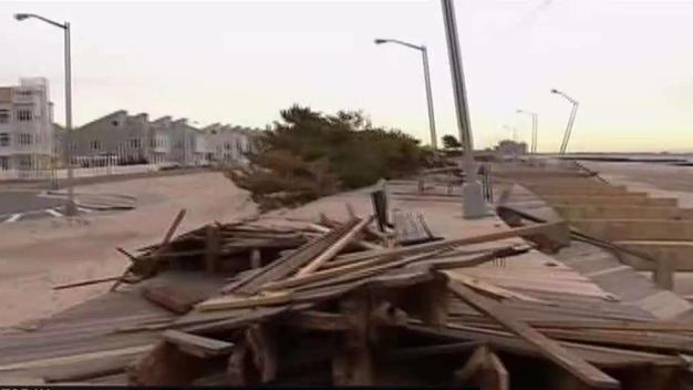 Rockaway Beach Boardwalk Reopens