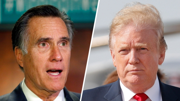 Trump Brushes Off Romney's Criticism, Points to Loss in 2012