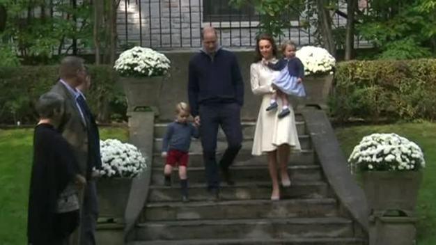Royals' Family Children Enjoy Canadian Tour