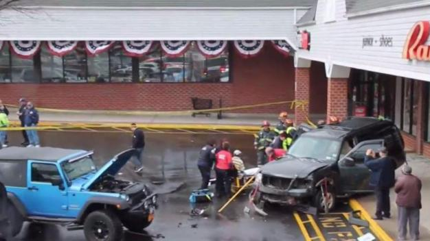 SUV Slams Into Long Island Store, Then Another One