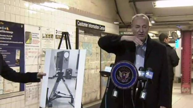 Schumer Pushes for Subway Screening Devices