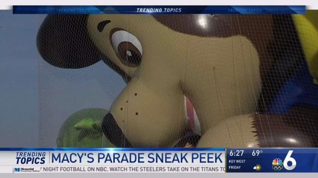 Sneak Peek at New Macy's Thanksgiving Day Parade Balloons