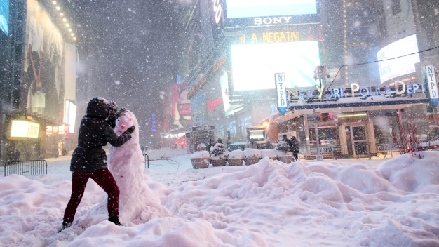 2016 Blizzard Was NYC's Biggest Snowstorm Ever: NOAA