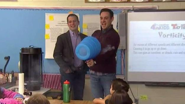 Storm Team 4 Has Science Fun at Strawtown Elementary