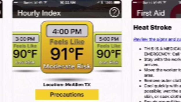 Sun Safety Apps for Dangerous Heat}