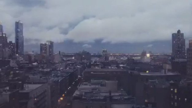 Incredible Timelapse Video of Manhattan Storm