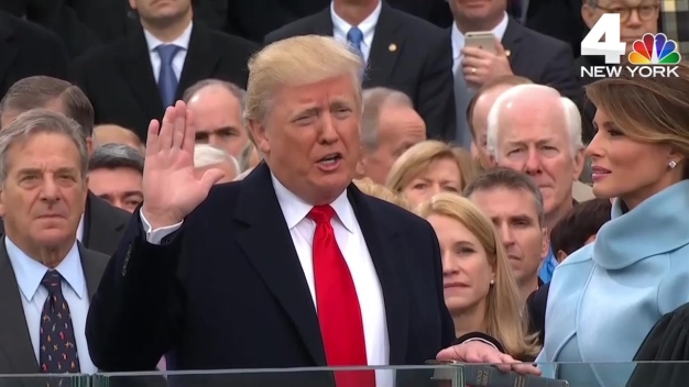 Donald J. Trump Sworn In as 45th President