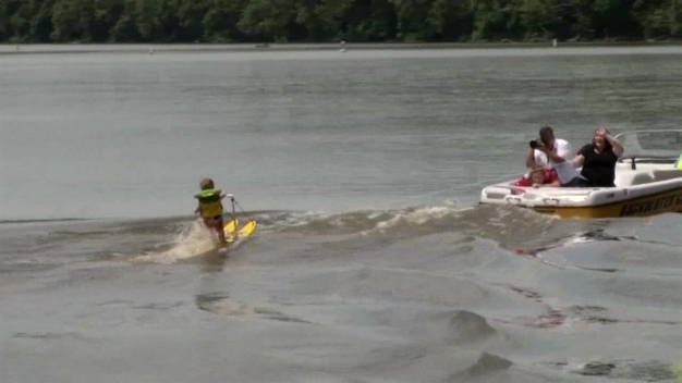 This Toddler Water Skis Better Than You