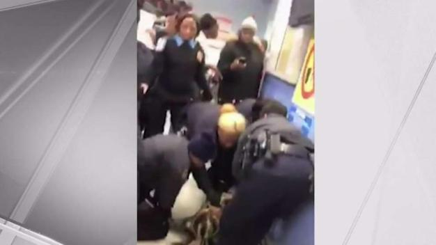 'Troubling' Video Shows Cops Ripping Baby Away From Mom