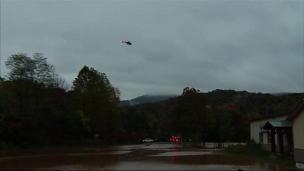 Flash Floods Strand Several Central Pennsylvania Residents