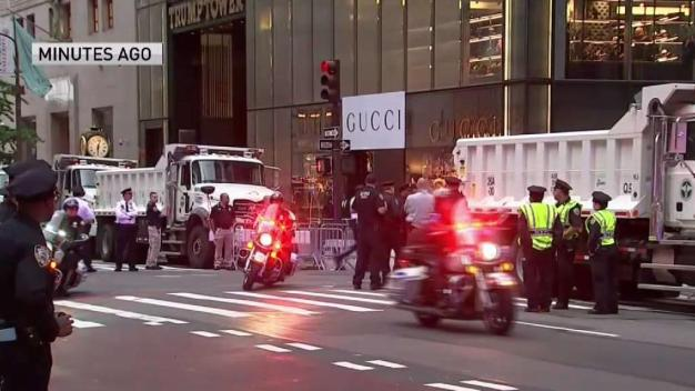 Trump Arrives in NYC, Residents Brace for Days of Gridlock