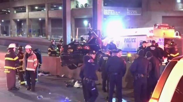 Video Shows Crash That Killed Off-Duty NYPD Officer