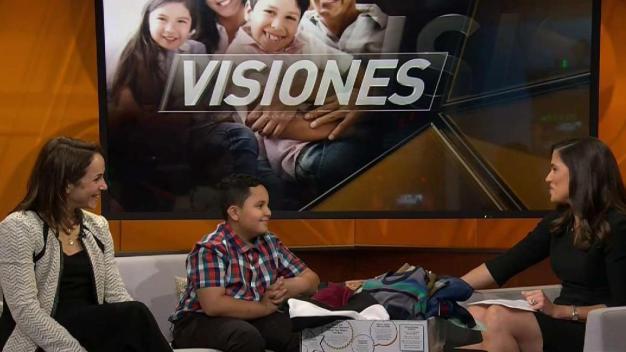 Visiones: Stacey Warshaw and Jayden Perez