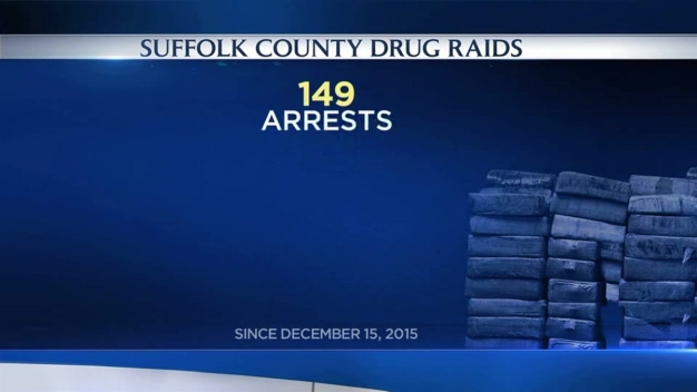 Four Arrested, More Than 200 Grams of Cocaine Seized Amid Long Island Drug Crackdown: Police