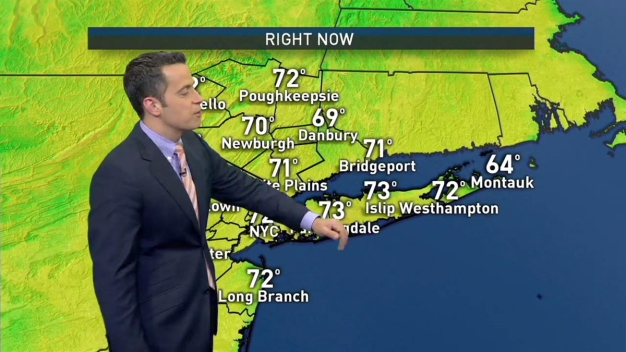 Midday Forecast for Saturday, June 25th