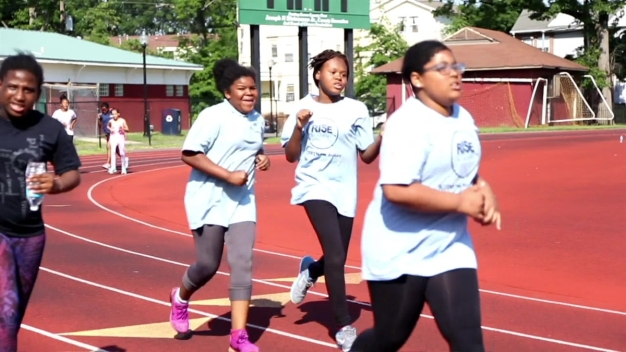 Positively Black: Rise Academy Girls Running Club