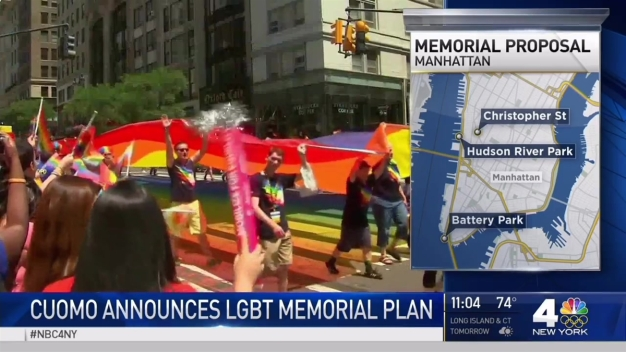 Cuomo Announces LGBT Memorial Plan