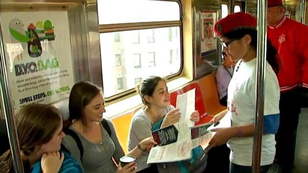 'Perv Busters' Patrol NYC Subway