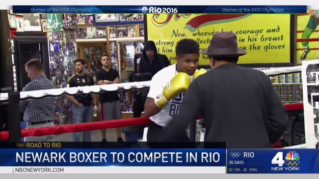 Newark Teen Boxer Eyes Gold in Olympics