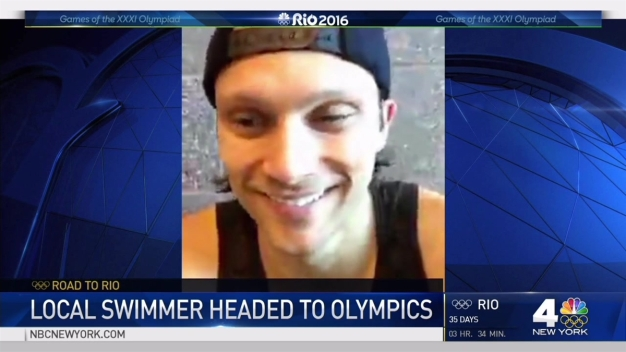 Road to Rio: NY-Trained Swimmer Headed to Olympics