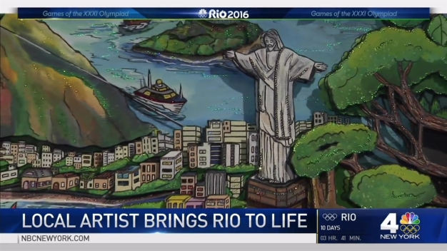 Road to Rio: Team USA Artist Hails from Tri-State