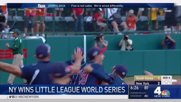 Endwell Wins NY's First Little League World Series Title in Half-Century