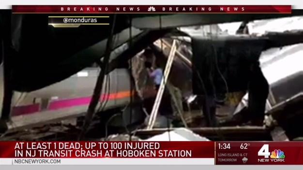 At Least 1 Dead, More Than 100 Hurt in Hoboken Train Crash