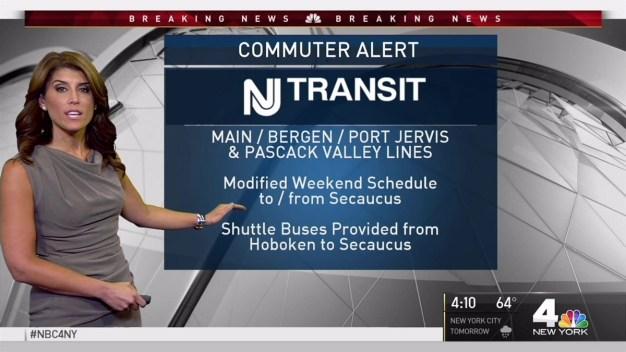 Commuter Alert: NJ Transit, PATH Changes