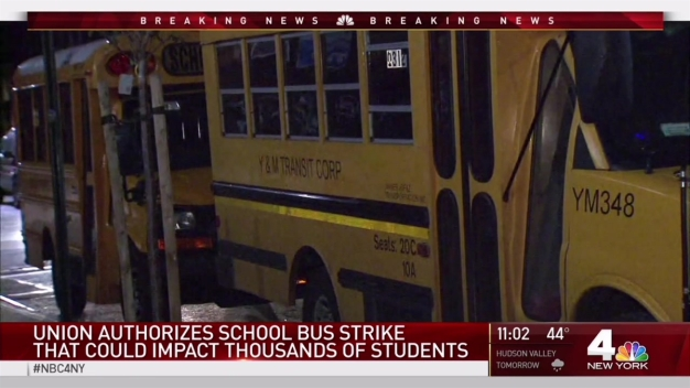 Hundreds of NYC School Bus Drivers Threaten to Strike