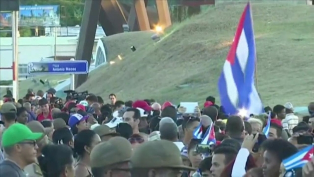 Cubans Line Havana Streets for Final Goodbyes to Fidel