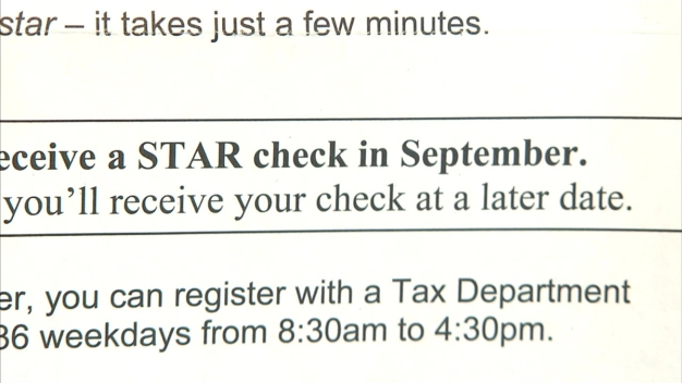NYS STAR Tax Relief Checks}