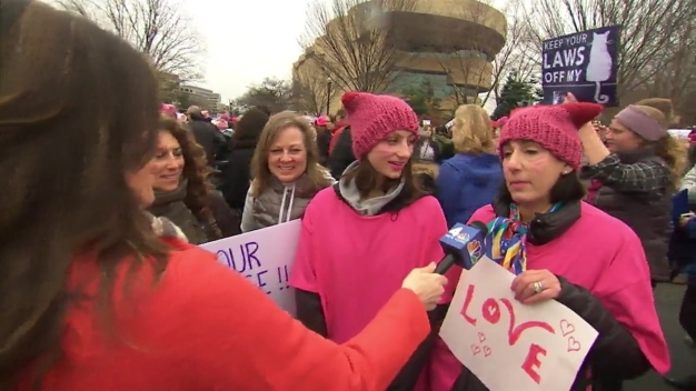 A-Listers, Activists Join Women's March Washington