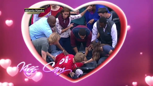 Man Drops Ring During Kiss Cam Proposal