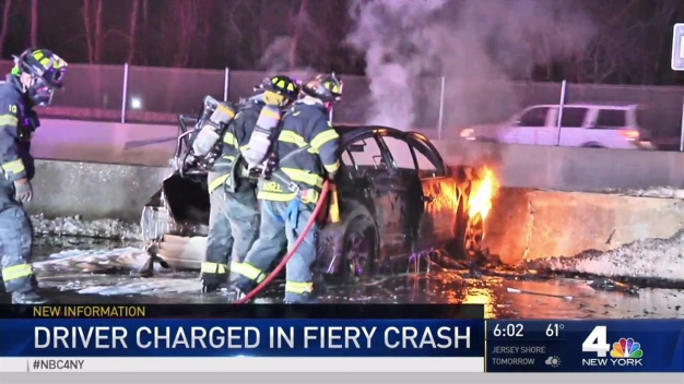 Police, Good Samaritan Rescue 3 From Burning Car