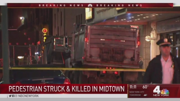 Pedestrian Struck and Killed in Midtown