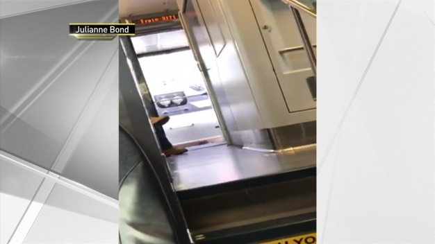 NJ Transit Door Open While Moving
