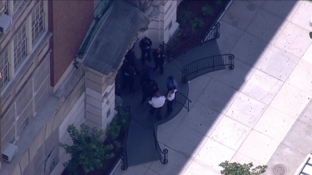 Chopper 4 Over John Jay Slashing Aftermath