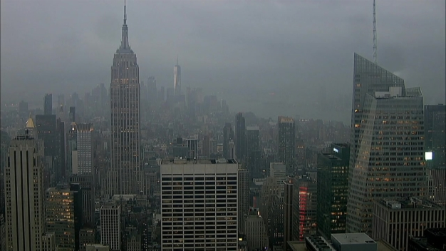 Storm Passes Over Top of the Rock