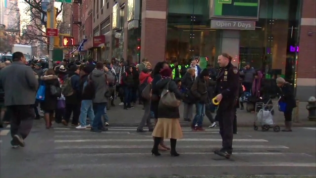 Raw Video: Immense Emergency Presence in NYC After Blast