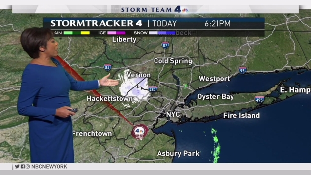 Early Evening Forecast for Tuesday December 12