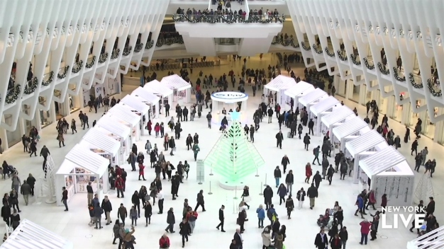 Experience The Holidays At Westfield World
