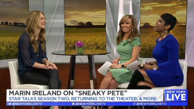 """Marin Ireland on """"Sneaky Pete"""" New Season"""