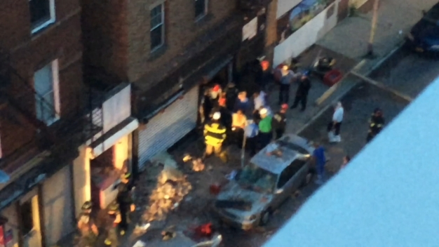 Woman Rescued from Rubble of Collapsed Building
