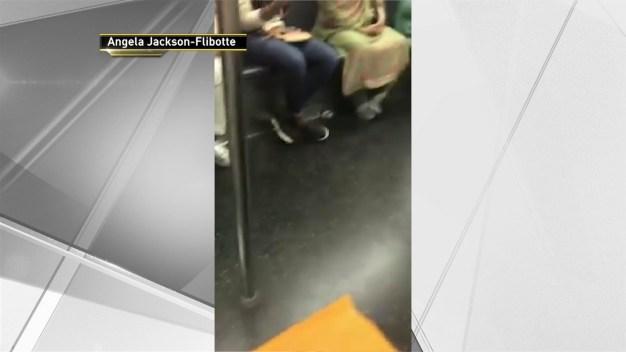 Passengers Play Impromptu 'Kickball' Game on NYC Subway