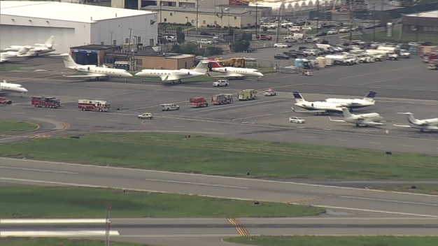 Large Emergency Response at Airport
