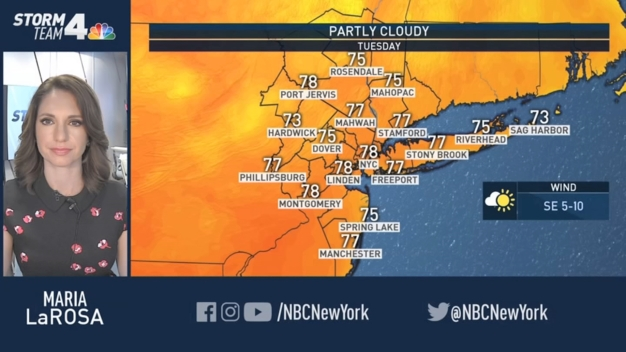 Not As Chilly Today - NBC New York