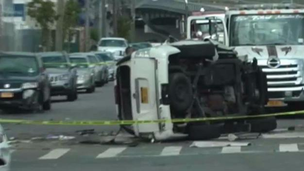Woman Dies After Her Speeding SUV Hits Cars in the Bronx