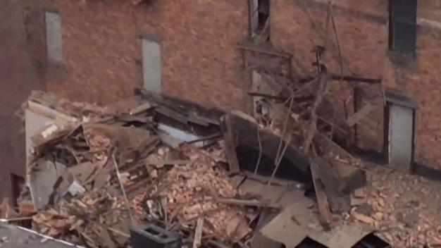Woman Pulled From Rubble of Collapsed NY Building