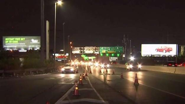 Years of Route 495 Lane Work Officially Begins