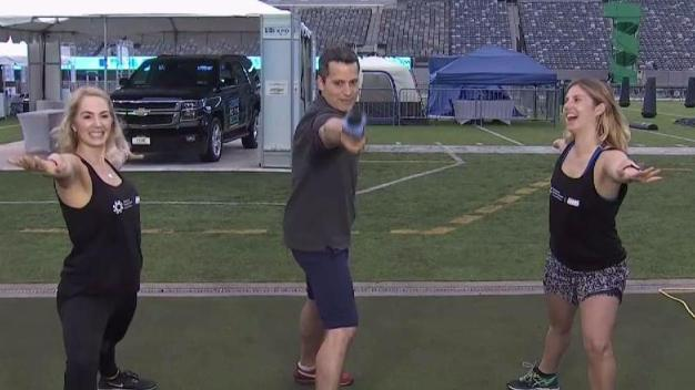 Zen and the Zone Yoga at MetLife Stadium